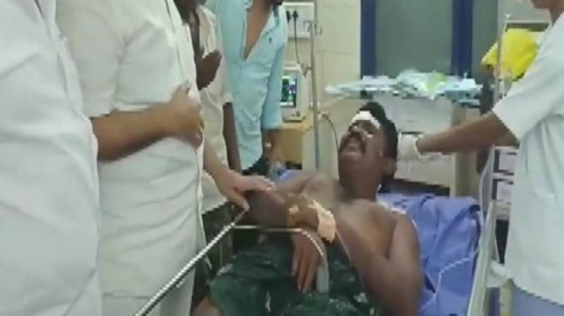 They were taken to RDT Hospital in Bathalapalli. Further investigation is currently on. (Photo: ANI)
