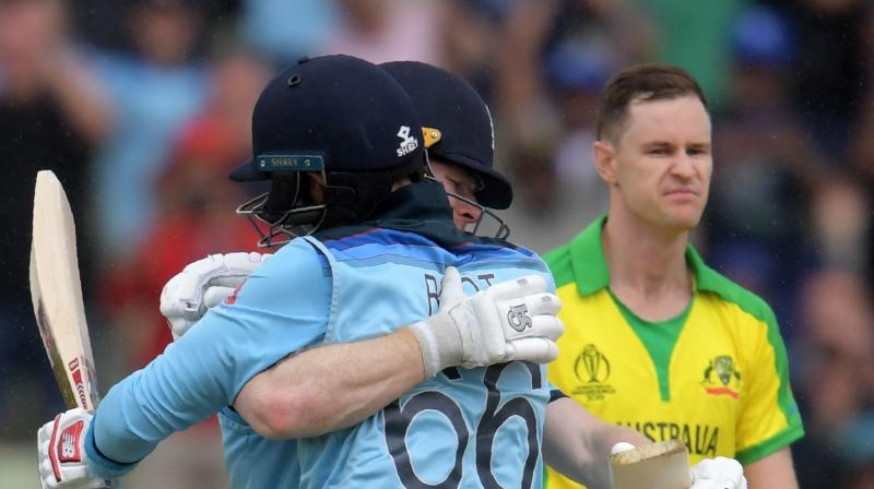 Despite a mixed buildup after they won just three of 18 matches in last 14 months until March this year, Aaron Finch's team entered the tournament as one of the favourites having beaten India and Pakistan in away series.  They stretched their winning streak to 10 matches until their 36-run loss to India at The Oval in the pool phase of the tournament. (Photo:AFP)
