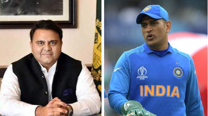 Dhoni is immensely respected by the people for his contribution to cricket. (Photo: Fawad Chaudhry /Facebook/AFP)