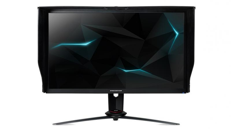 The new Predator XB273K gaming monitor supports ultra-high definition (3840x2160) resolution and features a 144Hz refresh rate for smooth images and gameplay.