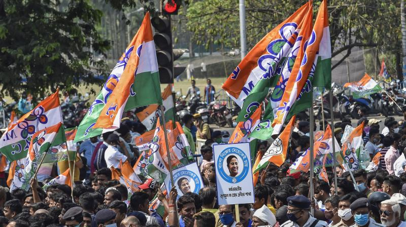 The electoral discourse in Bengal, where poll battles are fought on ideological lines, had in the past mostly steered clear of sub-nationalism like identity politics. (Representational Image/PTI)
