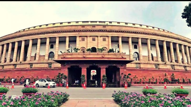 Parliament of India (Photo credit:Twitter)