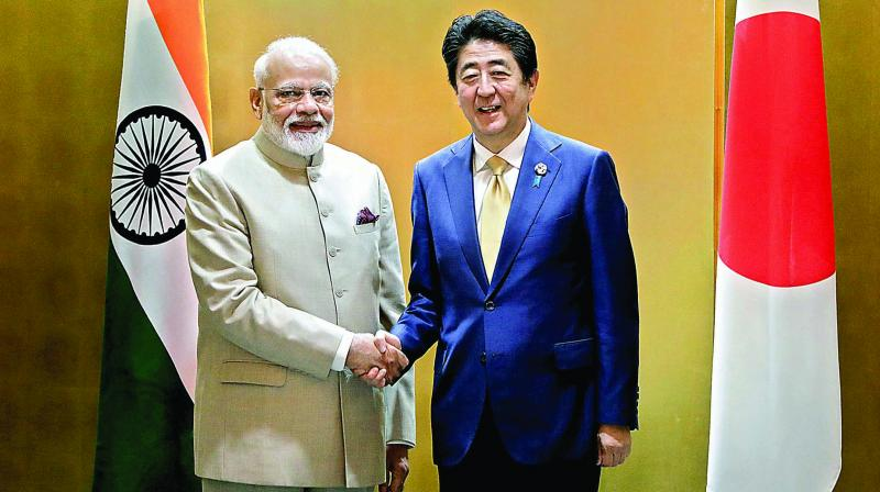'With reference to the proposed visit of Japanese PM Abe to India, both sides have decided to defer the visit to a mutually convenient date in the near future,' the MEA spokesperson said.  (Photo: File)