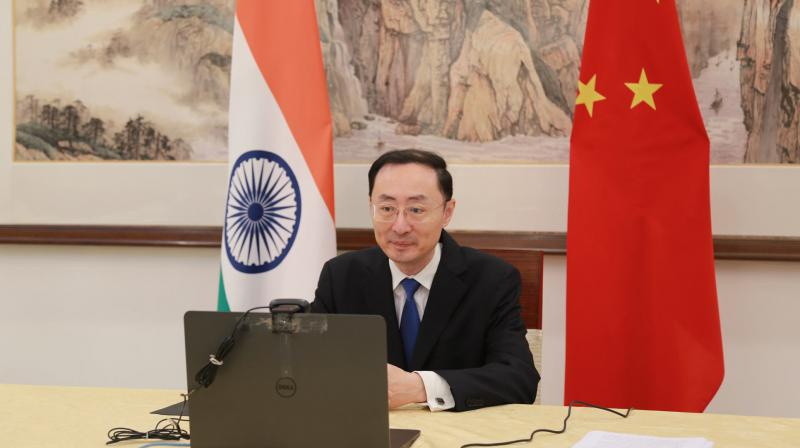 """Referring to the deadly Galwan valley clash between Indian and Chinese troops in mid-June, Sun Weidong said it would be a """"miscalculation"""" for India to treat China as an enemy or as a threat """"only by one issue or one incident"""". (Photo: www.china-embassy.org)"""
