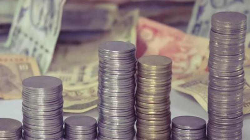 The rupee opened weak at 70.22 at the interbank forex market and then fell further to 70.32, down 29 paise over its last close.