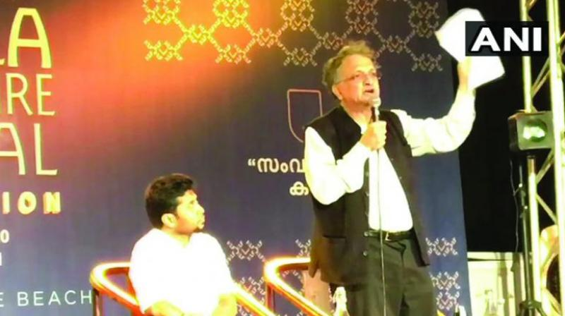 Ramachandra Guha at KLF on Friday