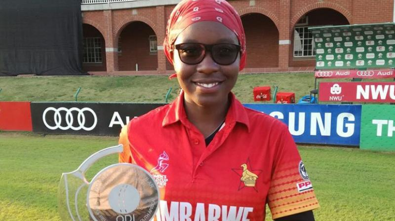 Zimbabwe women's captain Mary-Anne Musonda and squad members Anesu Mushangwe, Tasmeen Granger, and Sharne Mayers and coach Adam Chifo has been barred from travelling to England to feature in series of T20 games. (Photo:Twitter)