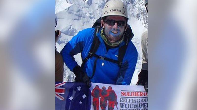 Rescuers managed to reach Terry Harch late Thursday and he was airlifted out during a break in bad weather on Friday afternoon. (Photo: Twitter | @SoldierOnAust)