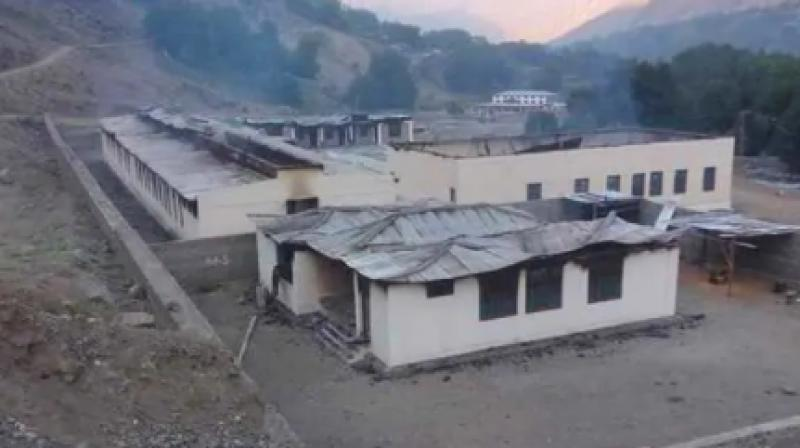According to a report, about 1,500 schools have been destroyed in the tribal belt during the last 10 years. (Photo: Twitter | @DrAyeeshNaveed)