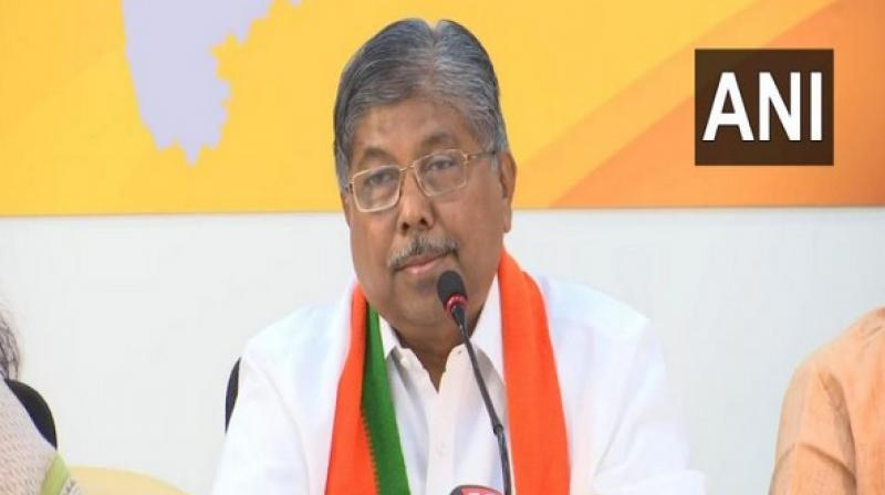 'Those who are thinking that alliance will not happen are going to be disappointed,' Chandrakant Patil said. (Photo: ANI)