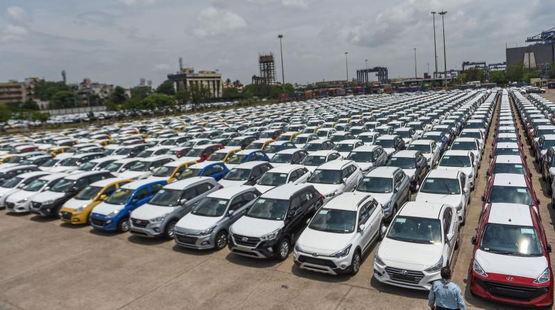 Auto dealers to strictly comply with lockdown extension. (PTI Photo)