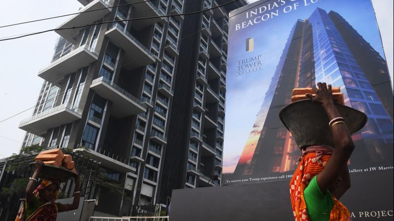 Analysts expect real  estate sales to pick up pace in the festive season (Photo: AFP/File)