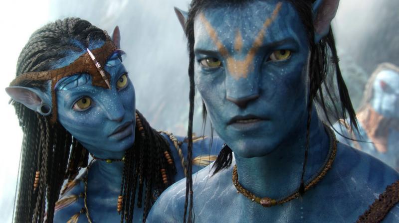 A still from 'Avatar.'