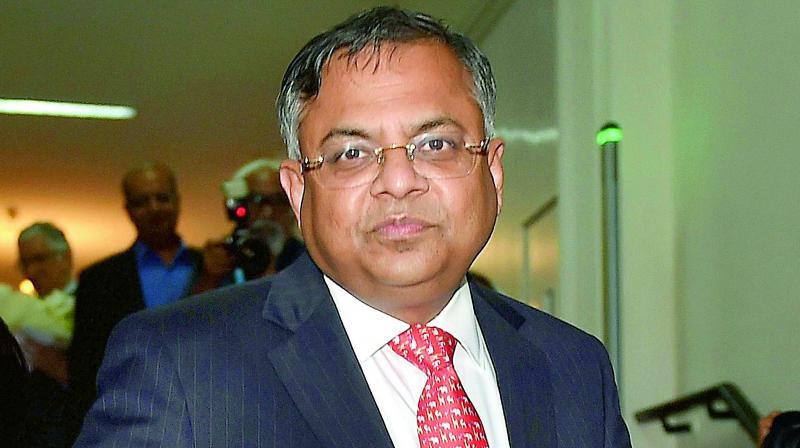 Tata Sons Chairman, N Chandrasekaran.