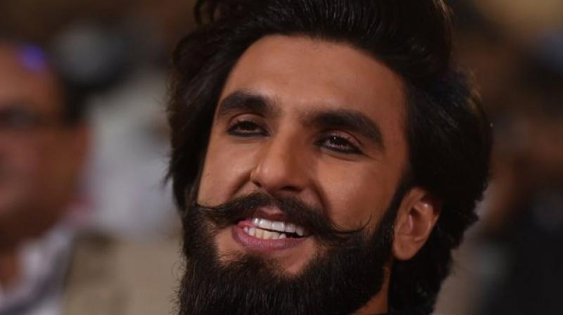 Ranveer Singh was spotted in his Alauddin Khilji look at an event months ago.