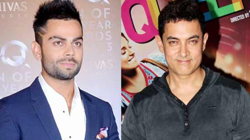 Aamir Khan had worked with Virat Kohli's alleged girlfriend Anushka Sharma in 'PK.'