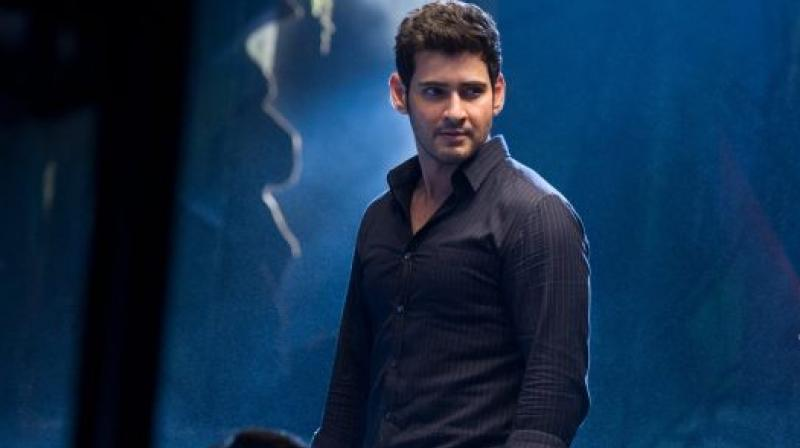 Mahesh Babu in a still from 'Spyder.'