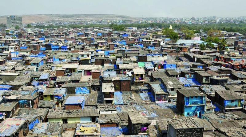 The slum dwellers, who are rehabilitated in SRA schemes, often face difficulties as developers fail to procure complete OC for the buildings