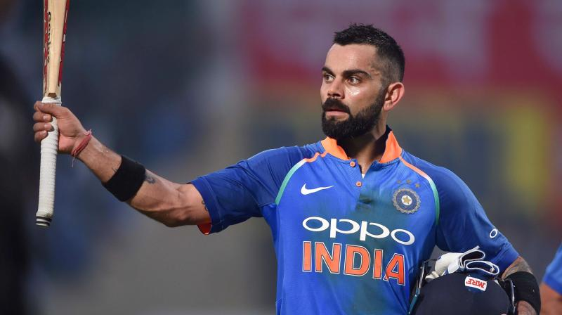 Ranked 83rd last year, Kohli has climbed down to the 100th and last spot  (Photo: PTI)