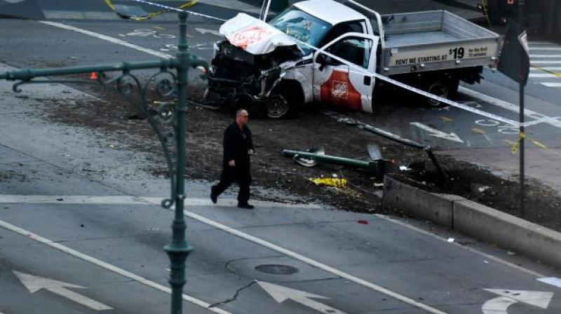 At least eight people were killed and 11 others injured in the attack, while the suspect was arrested. (Photo: AFP)