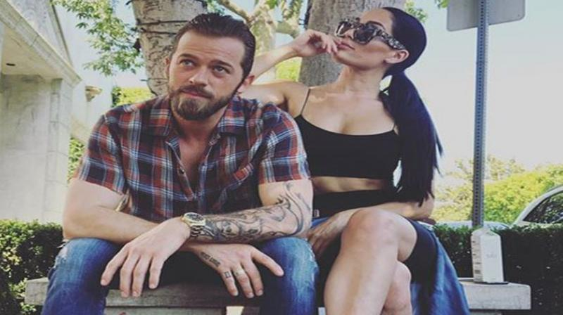 Nikki Bella with Artem Chigvintsev. (Photo: ANI)
