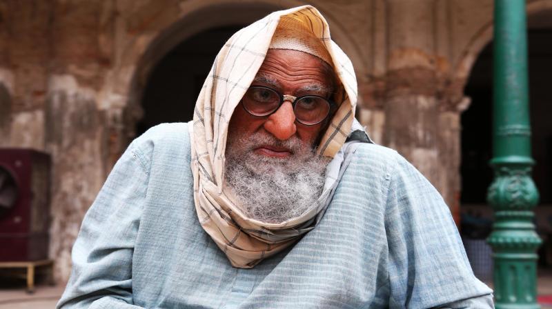 Amitabh Bachchan's look in Gulabo Sitabo.