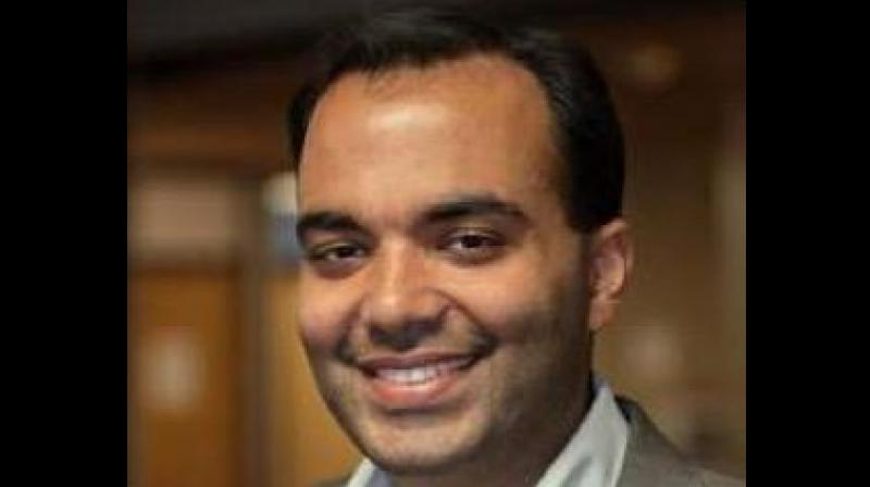 Chopra holds a BA from Harvard College and an MBA from the Wharton School at the University of Pennsylvania. (Photo: Twitter)