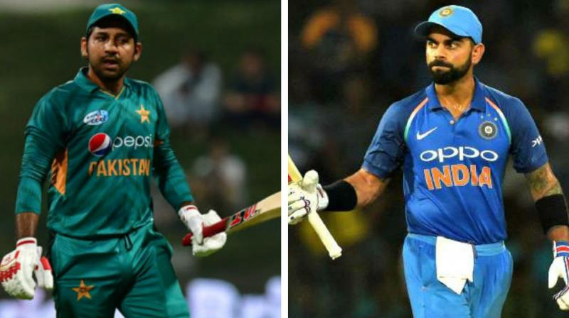 India and Pakistan take on each other on June 16 at Manchester.  (Photo: AFP)
