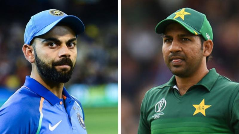India have never lost to Pakistan at a World Cup, winning at the last two tournaments, and are favourites to extend that run. (Photo: AFP)