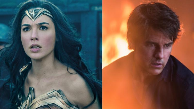 Stills of 'Wonder Woman' and 'The Mummy.'