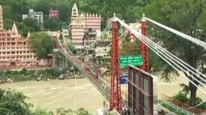 The bridge has been used to shoot documentaries and Bollywood songs drawing many foreign visitors too. (Photo: ANI)