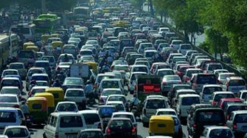 Petitioner Vaibhav Deshpande sought to reduce the traffic problem in Pune by introduction of the odd-even scheme. (Representational image)
