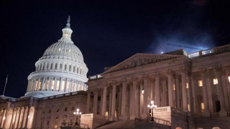 Congress had missed a midnight deadline when a conservative senator refused to allow an early vote on the compromise bill, but now a signature by Trump, who supports the deal, will reopen government offices. (Photo: AFP)