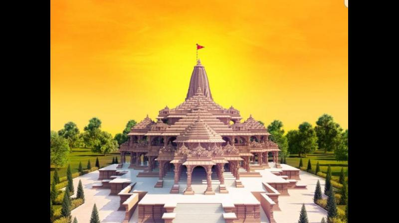 This is how the new Ram Mandir in Ayodhya will look like.