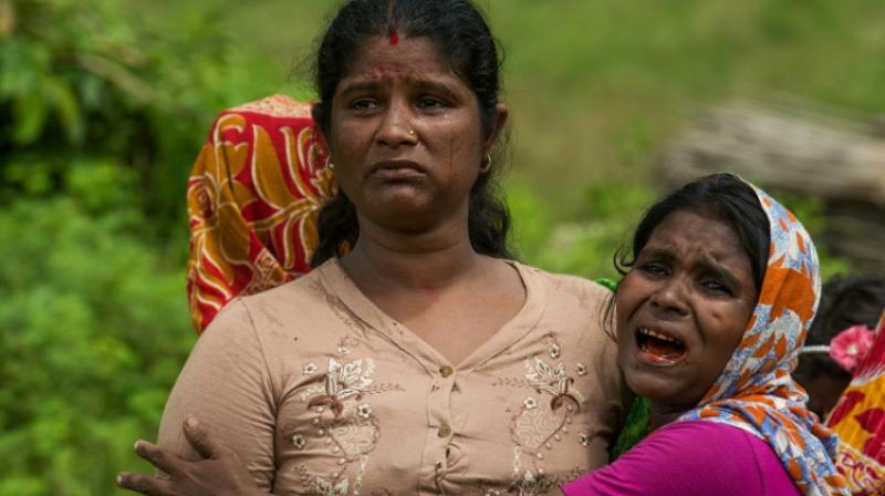 The killings took place on August 25, 2017, the report said, the same day that the Rohingya insurgents staged coordinated deadly raids on police posts that tipped the state into crisis. (Photo: AFP)