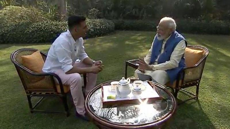 'I have many good friends in the Opposition. We do eat food together once or twice a year,' Modi said. (Photo: BJP | Twitter)