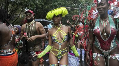 Revelers participate in the West Indian American Day Parade in the Brooklyn borough of New York, on Monday, September 2, 2019. (Photo: AP)