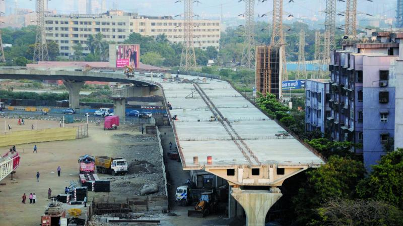 Representational picture of Sion flyover