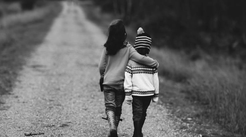 Findings suggest that our early social lives may have a small protective influence on our physical health in adulthood. (Photo: Pixabay)