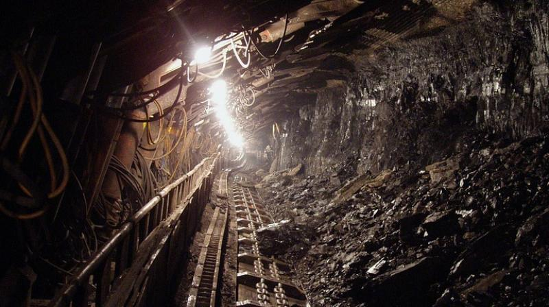 The miners are trapped in a 370-feet-deep illegal coal mine, flooded with water, in Ksan area of Lumthari village in Meghalaya.