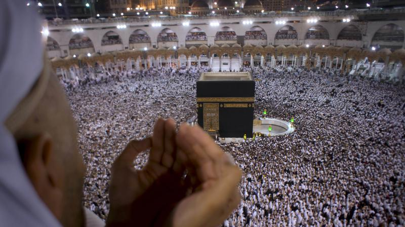 The raka'h is repeated two, three or four times, depending on the time of prayer.