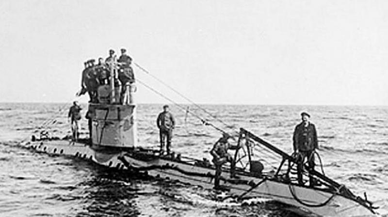 The submarine would have had 22 crew and a commander on board. (Photo: Wikimedia Commons)
