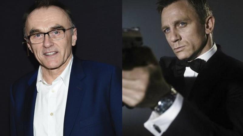 Danny Boyle and Daniel Craig as James Bond.