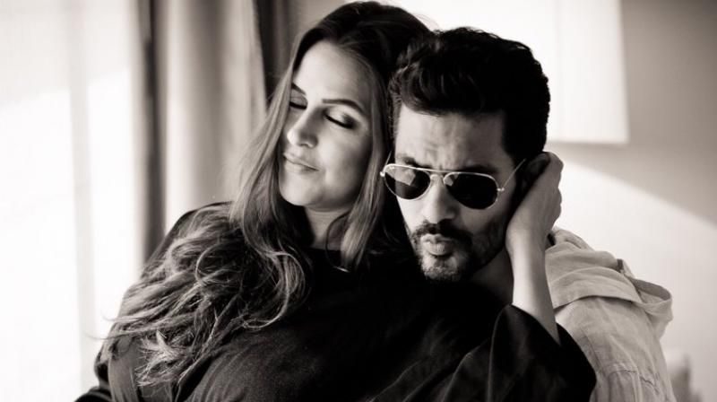 Angad posted a lovely photo of himself with wife Neha. (Instagram/angadbedi)
