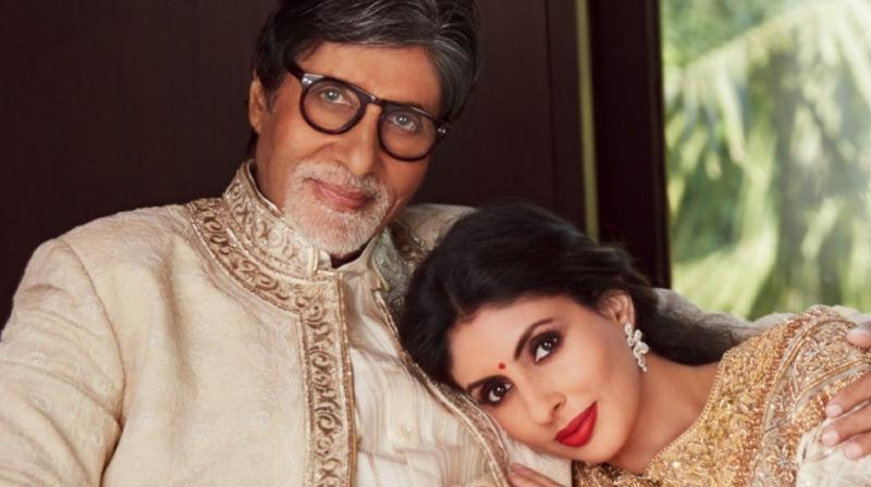 Amitabh Bachchan with daughter Shweta.