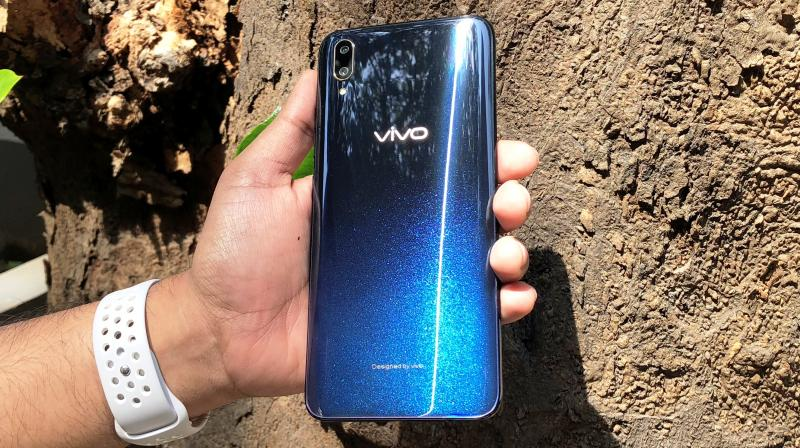 The Vivo V11 Pro offers the biggest display with the least bezels and doesn't hurt the wallet.