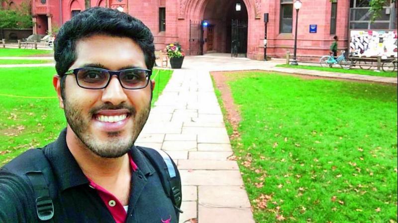 Chemical engineer Gautam Sabhahit.