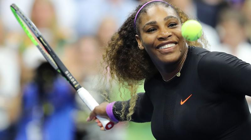 Since returning to action after the birth of her first child Serena Williams has come agonisingly close to matching Margaret Court's mark three times and will have a chance on Saturday to do so in front of an adoring home crowd for a second successive year. (Photo:AFP)