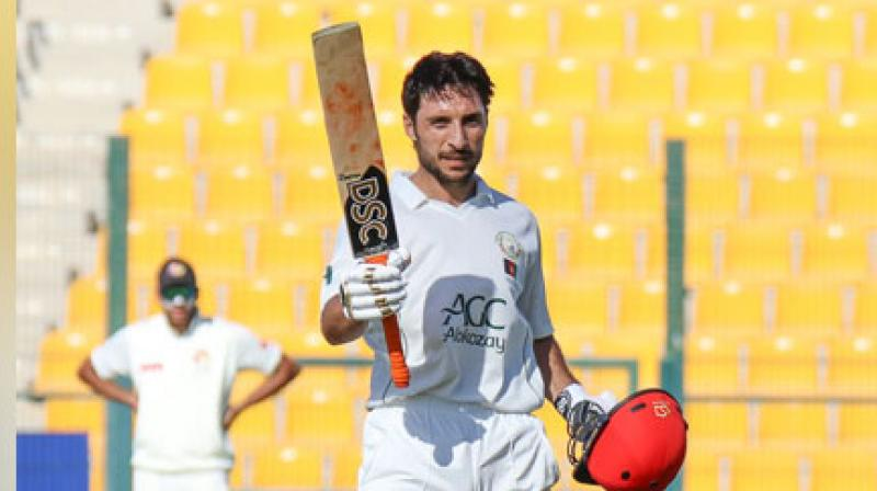 All-rounder Rahmat Shah on Thursday became the first cricketer from Afghanistan to score a Test century. (Photo: Rahmat Shah/Twitter)