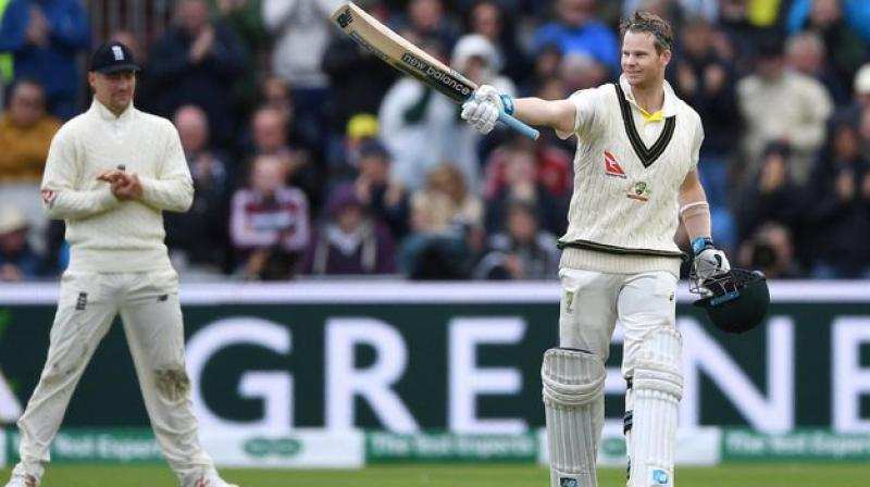 The world number one Test batsman Steve Smith cannot stop scoring runs and in the latest, he scored a double century against England on the second day of the fourth Test in the ongoing Ashes. (Photo: Sachin Tendulkar/Twitter)
